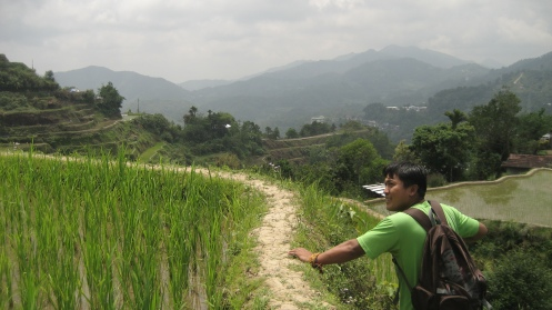 Darwin, our Ifugao Mountain Guide.